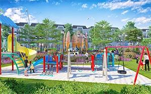 Trường học, công viên cây xanh