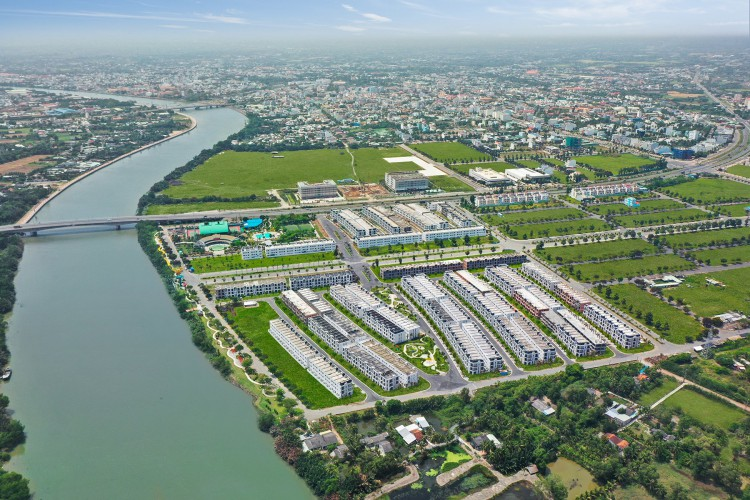 Kỳ vọng mới từ bất động sản ven sông tại Long An